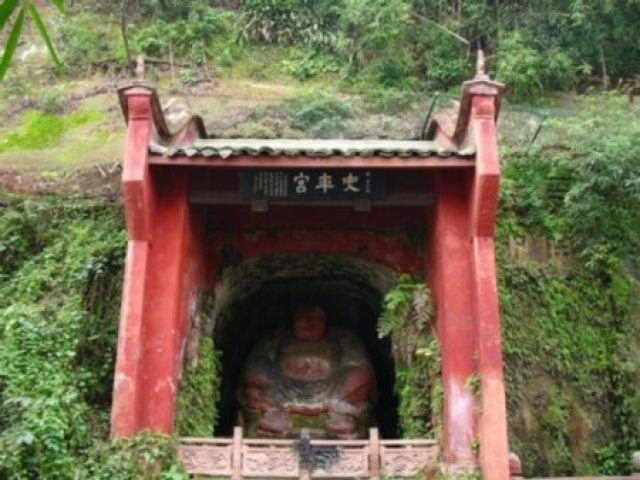 Zdjęcia: Leshan, Sichuan, Siedzacy Budda, CHINY