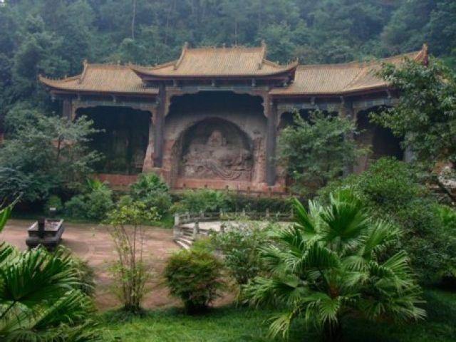 Zdjęcia: Leshan, Sichuan, Budda , CHINY