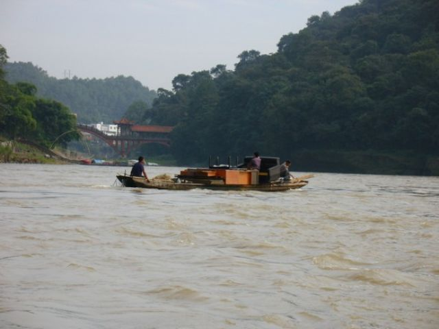 Zdjęcia: Leshan, Sichuan, Przeprowadzka, CHINY