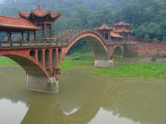 Zdjęcia: Leshan, Sichuan, Most, CHINY