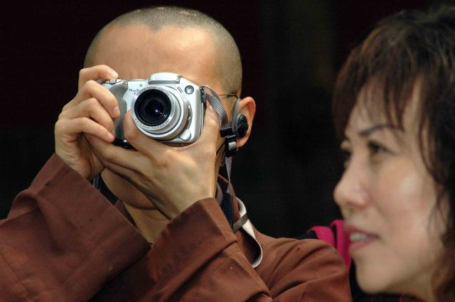 Zdjęcia: pekin, każdy chce mieć pamiątkę.., CHINY