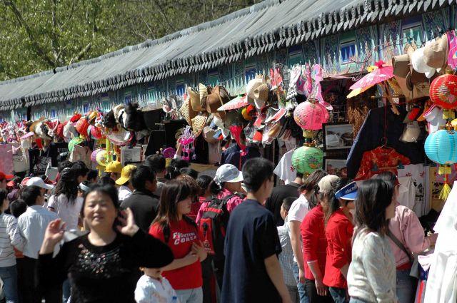 Zdjęcia: bazar po d Pekinem, money, money..., CHINY