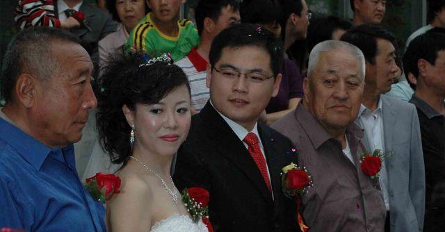 Zdjęcia: pekin, Młodzi ze świadkami, CHINY