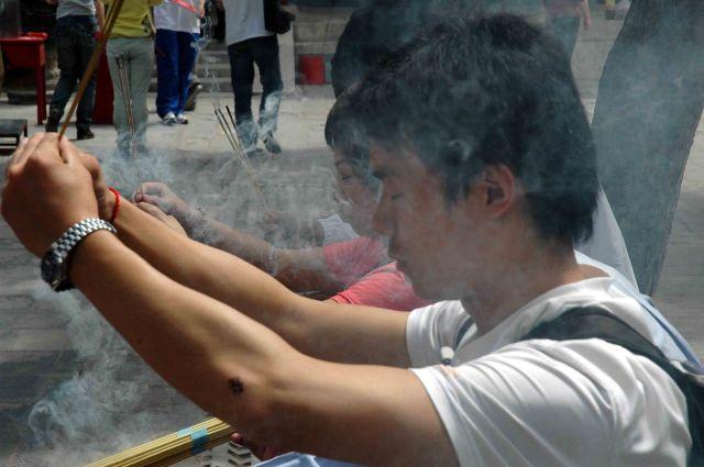 Zdjęcia: pekin, oazowicze Buddy, CHINY