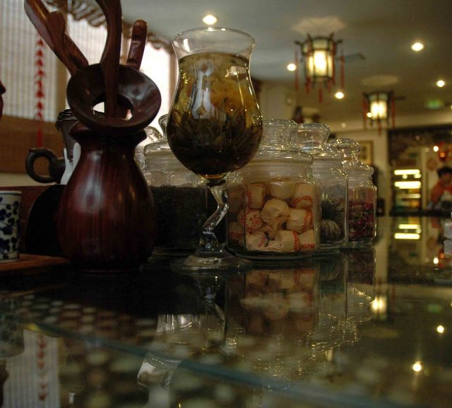 Zdjęcia: pekin, zestaw na herbatkę, CHINY