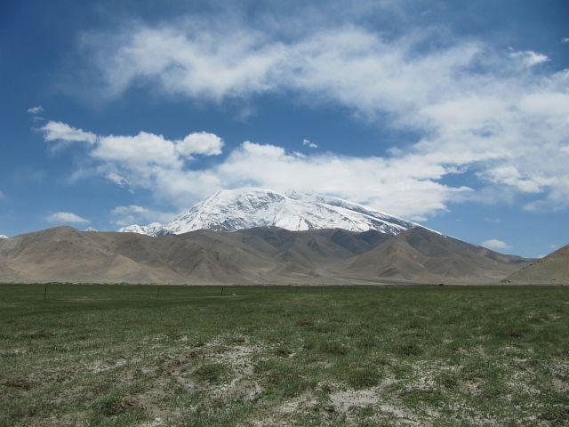Zdjęcia:  Muztagh Ata, Karakorum Highway, Muztagh Ata, CHINY