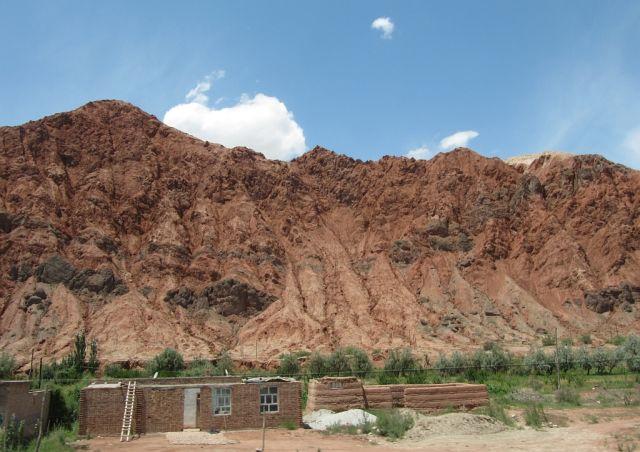 Zdjęcia: Aoyi Take, Karakorum Highway, Czerwone skały, CHINY