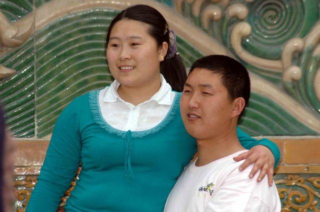 Zdjęcia: pekin, dobrana para, CHINY