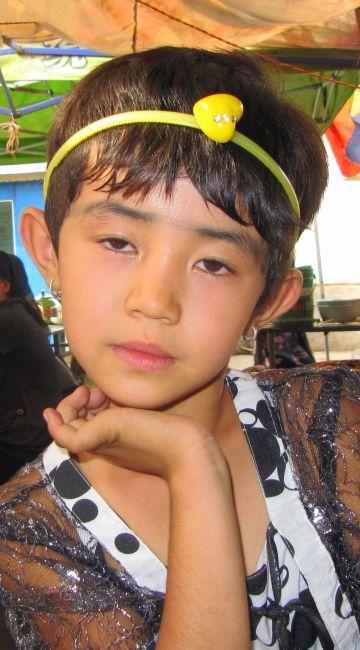 Zdjęcia: Hotan, Hotan, Mała Ujgurka, CHINY
