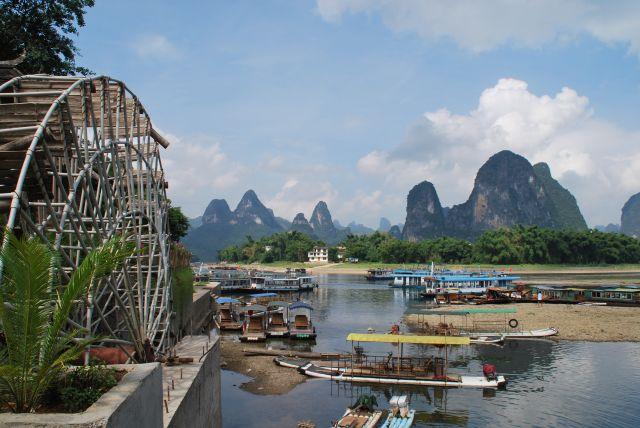 Zdjęcia: yangshuo, nad rzeką Li, CHINY