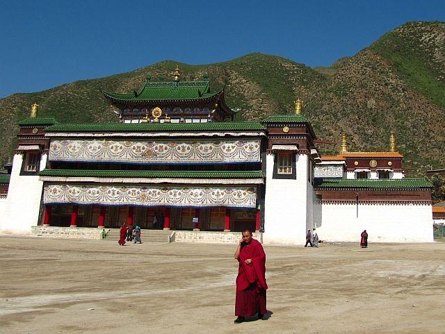 Zdjęcia: klasztor Labrang, Xiahe, klasztor Labrang, CHINY