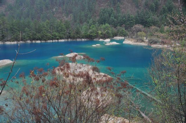 Zdjęcia: Jiuzhaigo, Syczuan, W dolinie Jiuzhai II, CHINY