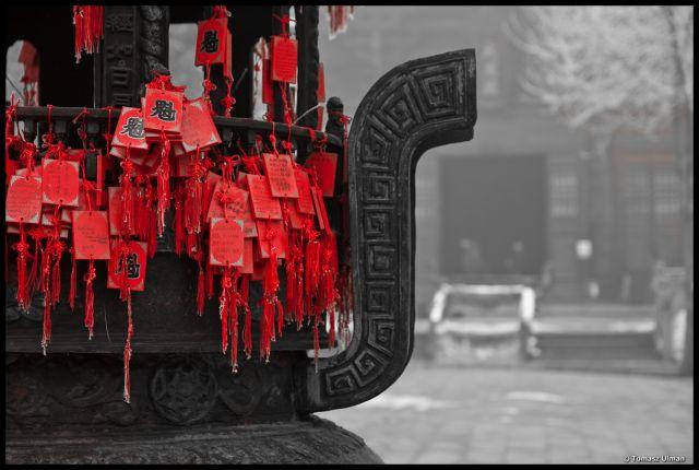 Zdjęcia: Pingyao, Modlitwy, CHINY