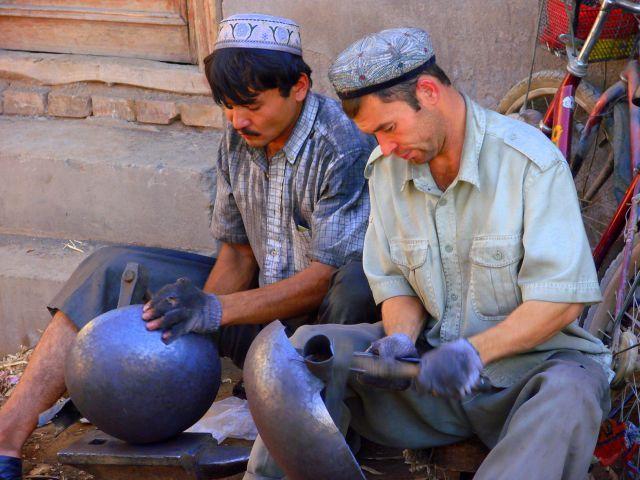 Zdjęcia: Kaszgar, Kaszgar, Kowale, CHINY