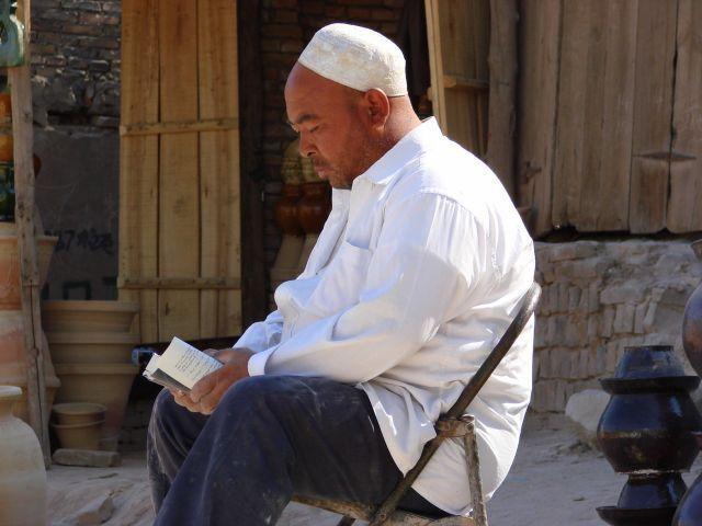 Zdjęcia: Kaszgar, Kaszgar, Modlitwa, CHINY