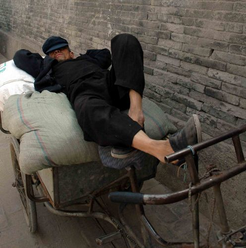 Zdj�cia: pekin, pracu�, CHINY