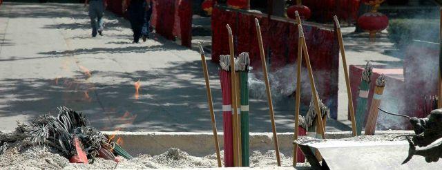 Zdjęcia: pekin, w świątyni tao, CHINY