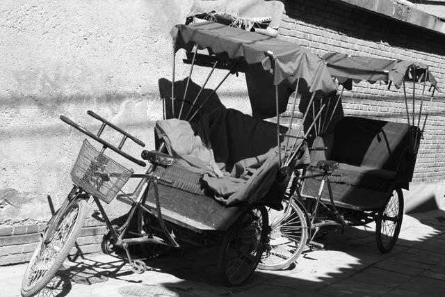 """Zdjęcia: Pekin, seria rowerków - """"podróżnik"""", CHINY"""