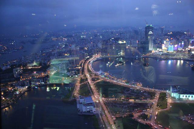 Zdjęcia: Macau, Macau nocą, CHINY