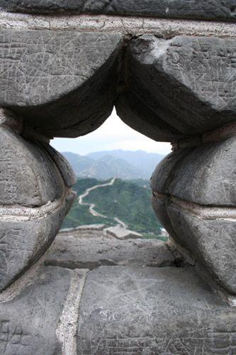 Zdjęcia: okolice Pekinu, z wielkiego muru na wielki mur  ;-), CHINY