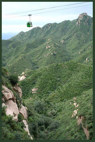 Zdj�cia: okolice Pekinu, zielona kropka nad i , CHINY