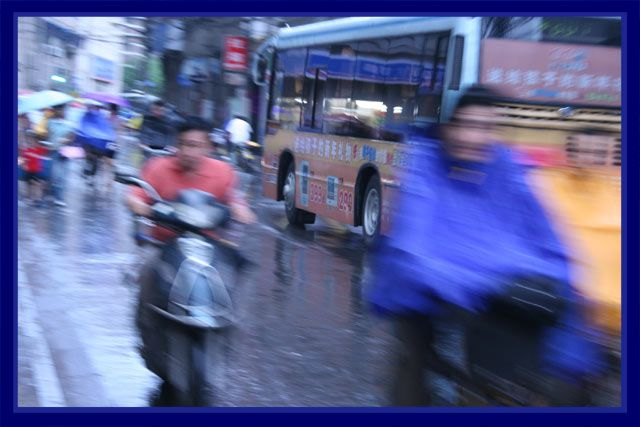 Zdjęcia: Szanghaj, łzawy dzień ..., CHINY