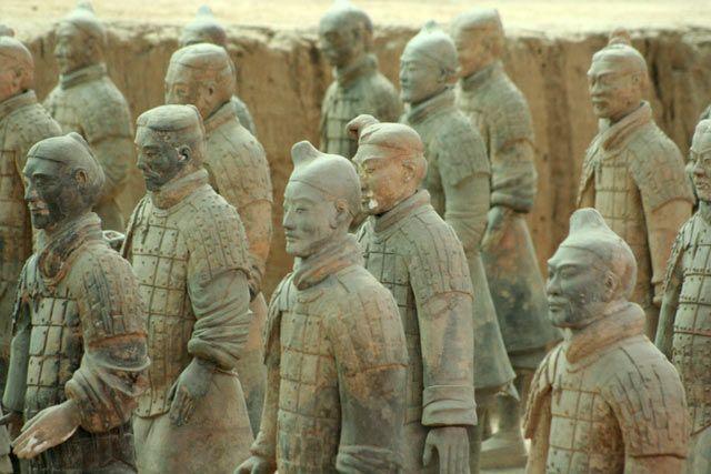 Zdjęcia: Xian, ARMIA, CHINY