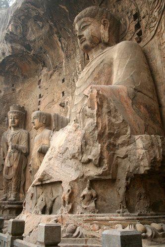 Zdjęcia: Luoyang, Groty Longmen, CHINY