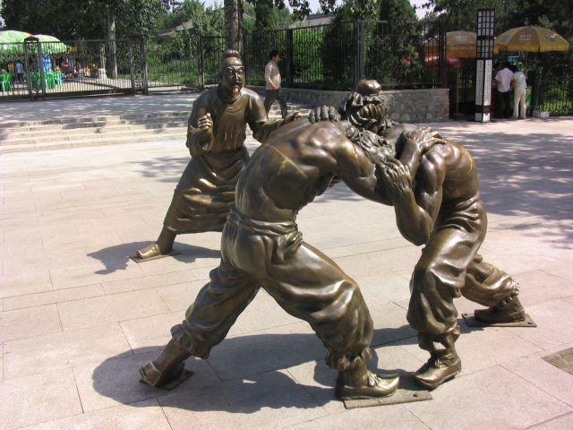 Zdjęcia: Xi'an, Rzeźba, CHINY