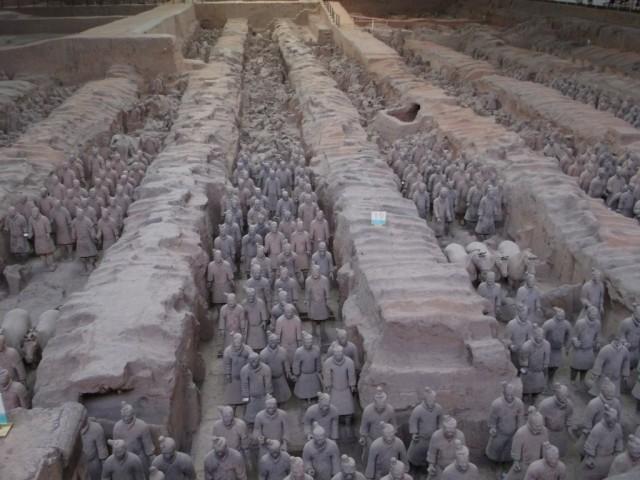 Zdjęcia: Xi'an Muzeum Terakotowych Wojowników, Xi'an, Xi'an Terakotowi Wojownicy, CHINY