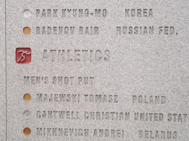 Zdjęcia: Pekin, Pekin, Tomasz Majewski tablica, CHINY