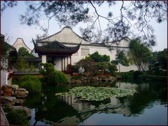 Zdjęcia: Suzhou, Suzhou, W chińskim ogrodzie, CHINY