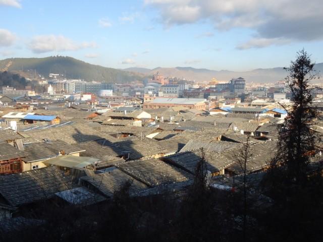 Zdjęcia: Shangri La (Zhongdian), Yunnan, Shangri La przed pożarem (9), CHINY