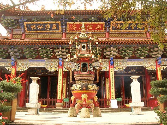 Zdjęcia: Kunming, Yunan, Świątynia Bambusowa 2, CHINY