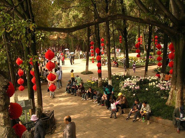 Zdjęcia: Kunming, Yunan, Park Pięknego Widoku, CHINY