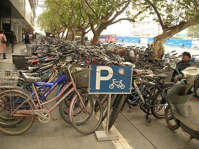 Zdjęcia:  Chengdu, Syczuan, parking, CHINY