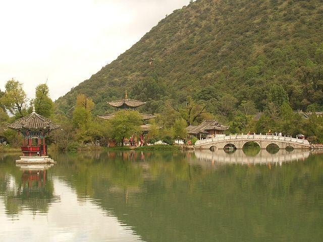 Zdjęcia: Lijiang, Yunan, staw Czarnego Smoka 1, CHINY