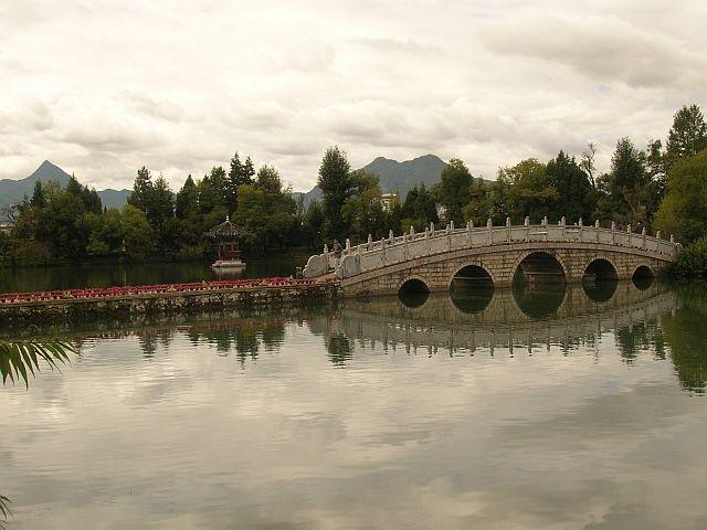Zdjęcia: Lijiang, Yunan, staw Czarnego Smoka 2, CHINY