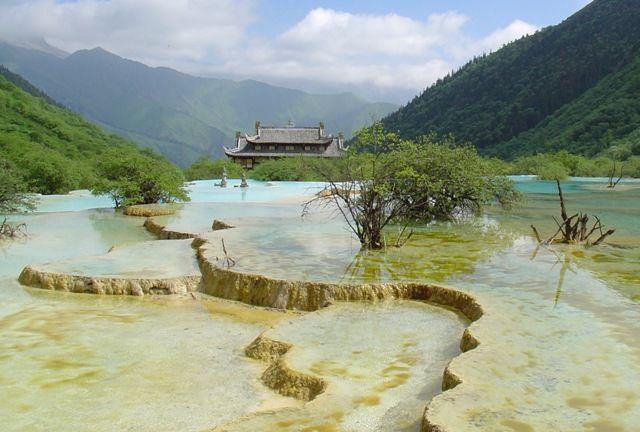 Zdjęcia: Huanglong, Tybet, Park narodowy Huanglong, CHINY
