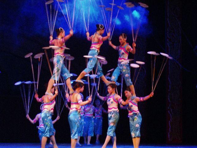 Zdjęcia: Pekin, akrobaci 1, CHINY