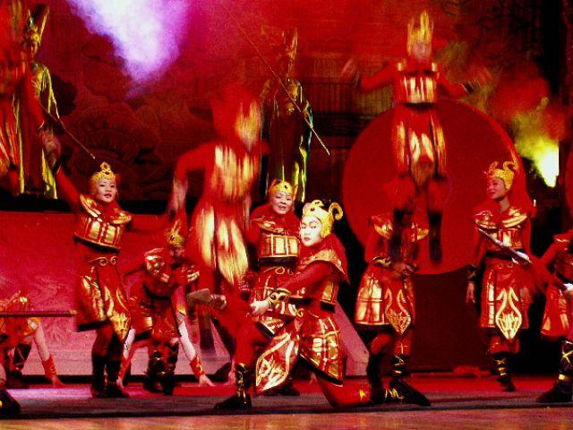 Zdjęcia: Pekin, akrobaci 2, CHINY