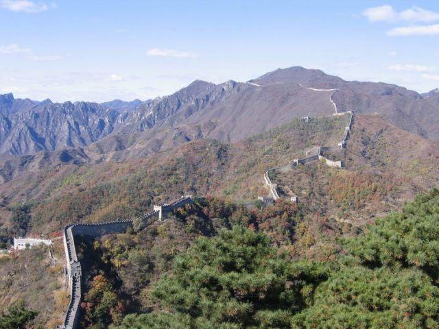 Zdj�cia: Chiny, okolice Pekinu, Chi�ski mur, CHINY