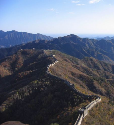 Zdjęcia: Chiny, połnocne Chiny, Chiński mur, CHINY