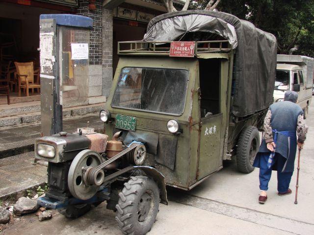 Zdjęcia: Dali, Pojazd, CHINY