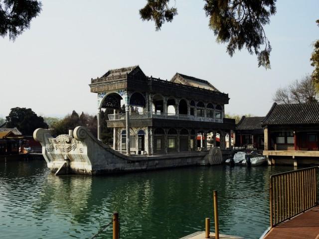 Zdjęcia: Pekin, Pekin, Marmurowa łódź, CHINY