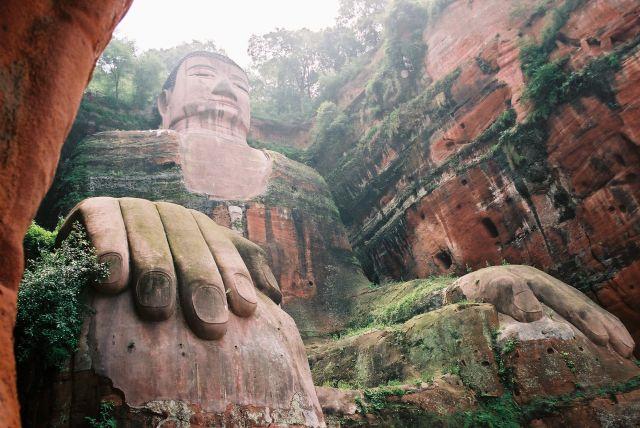 Zdjęcia: Lesham,  najwiekszy BUDDA na swiecie, CHINY