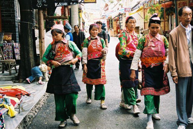 Zdjęcia: Dali, Uliczka w Dali, CHINY