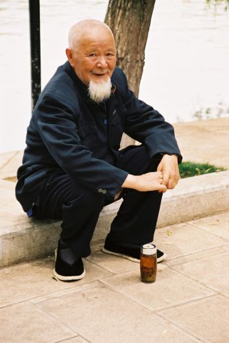 Zdj�cia: Pekin, Przenosna herbatka..., CHINY