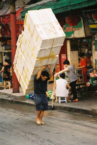 Zdj�cia: Chongqing, Chinska mroweczka?, CHINY