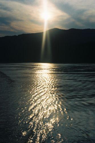 Zdjęcia: rzeka Jangcy, Zachod na Jangcy, CHINY